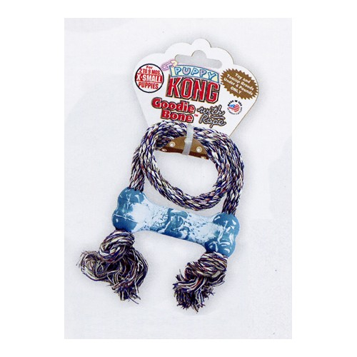 KONG PUPPY GOODIE BONE ROPE