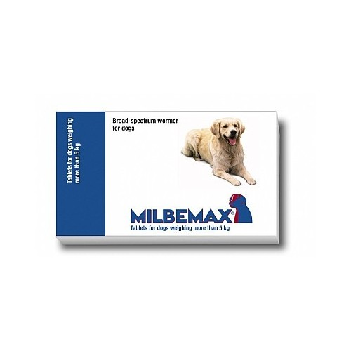 Milbemax large dogs 5-75 kg