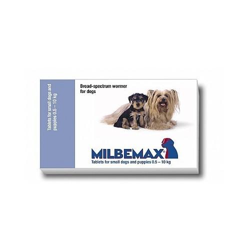 Milbemax cao pequeno/filhote 0.5-10 kg