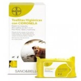 Citronella sanitary napkin with Sano & Bello