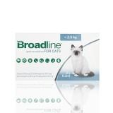 Broadline S (ate 2.5 kg) 3 aplicadores