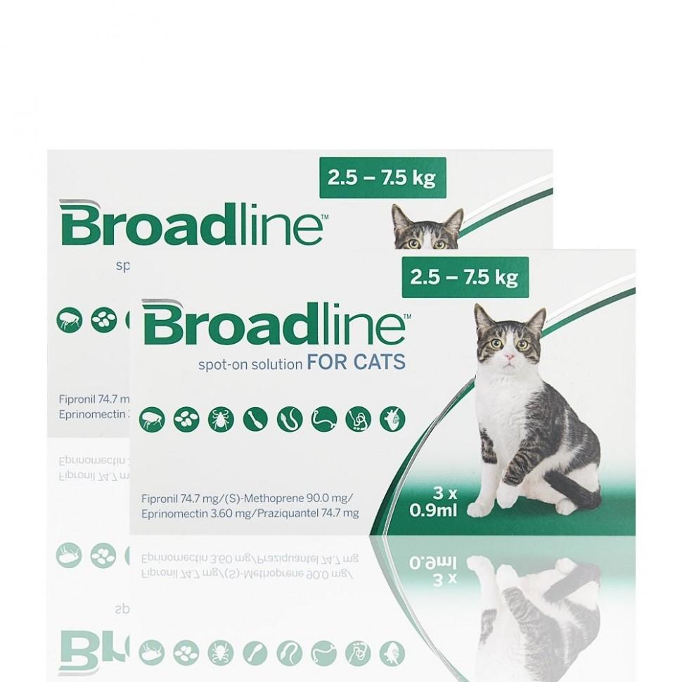 Broadline L (2.5-7.5 kg) 3 aplicadores