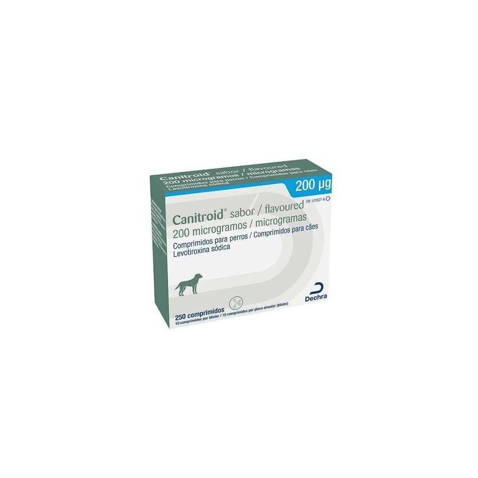 Canitroid Sabor 250 comprimidos