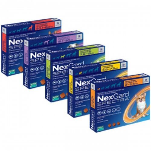NexGard Spectra (3.5-7.5 KG)