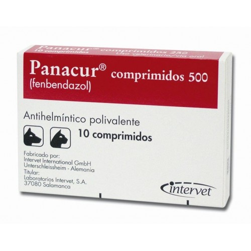 Panacur 500 mg. 200 tablets