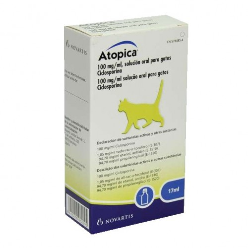 Atopica for cats