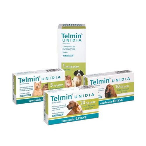 TELMIN Unidia Medium and Large Breeds 20 kg