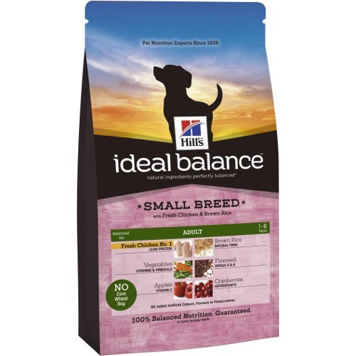 Ideal Balance Adult Mini com frango e arroz