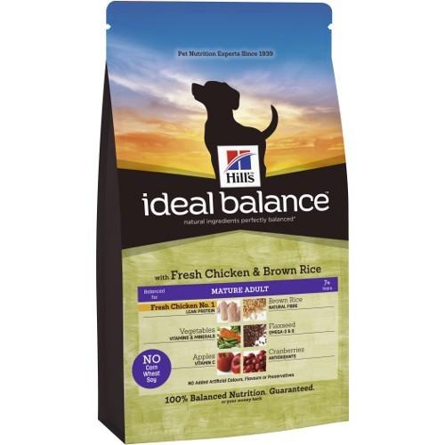 Ideal Balance Puppy com frango e arroz