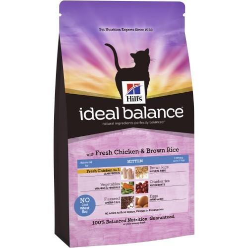 Ideal Balance Kitten con pollo y arroz