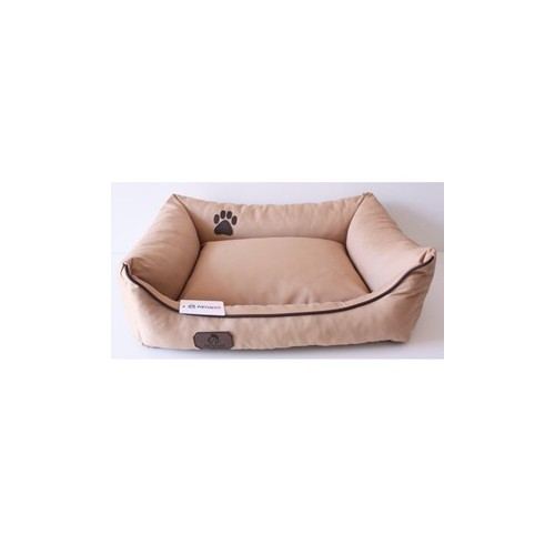 Dog sofa with zipper