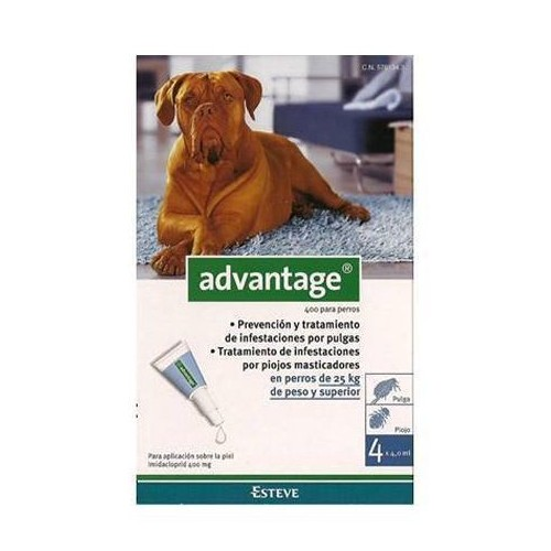 Advantage 400 Cão