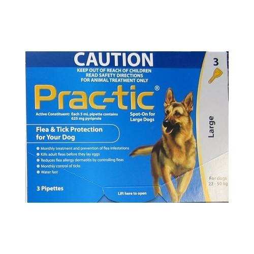 Prac-Tic (22-50 kg) 625 mg