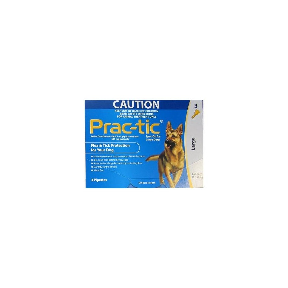 Prac-Tic (11-22 kg) 275 mg