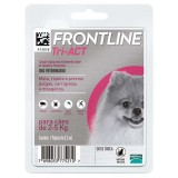 Frontline Tri-Act 2.5 to 5 kg.
