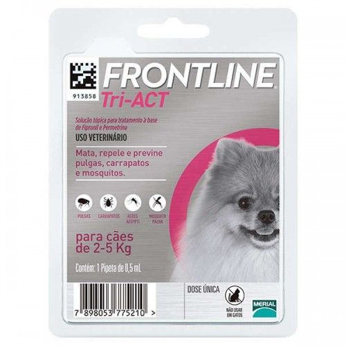 Frontline Tri-Act 2.5 a 5 kg.