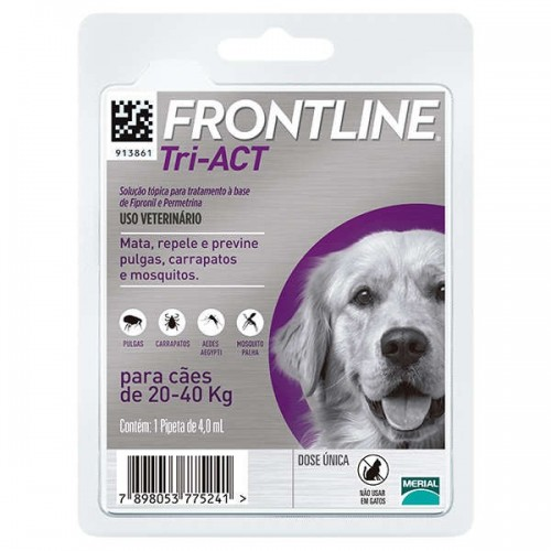 Frontline Tri-Act 20 to 40 kg.