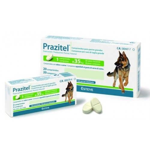 Prazitel XXL 24 Tablets