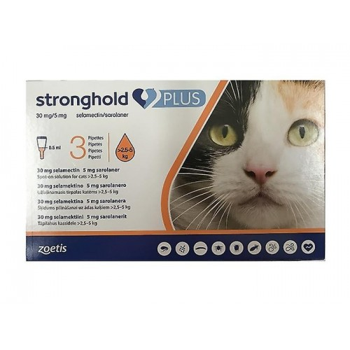 Stronghold Plus 2.5 a 5 kg.