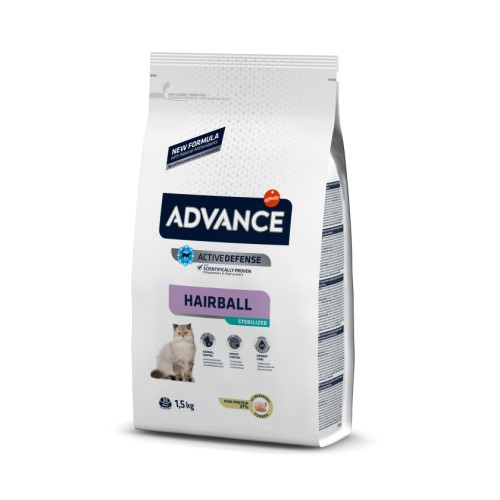 Advance Sterilized HAIRBALL Pavo y Cebada