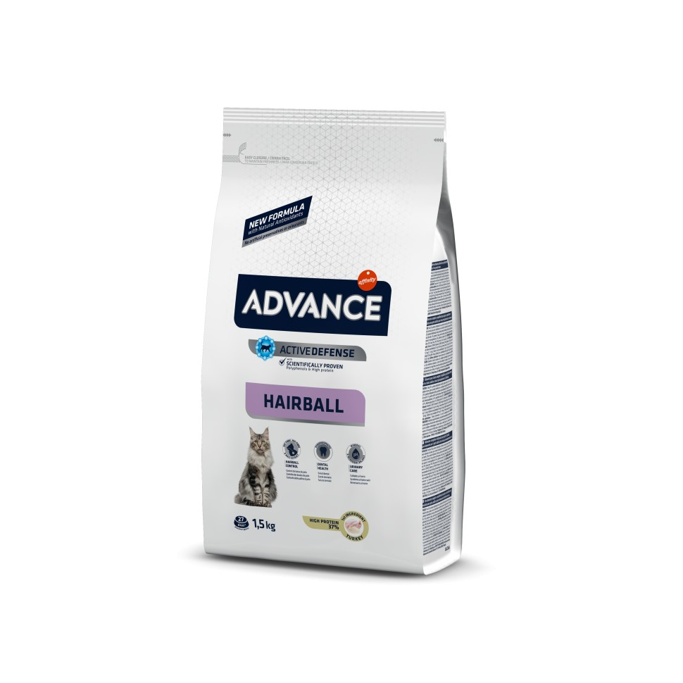 Advance HAIRBALL Pavo y Arroz