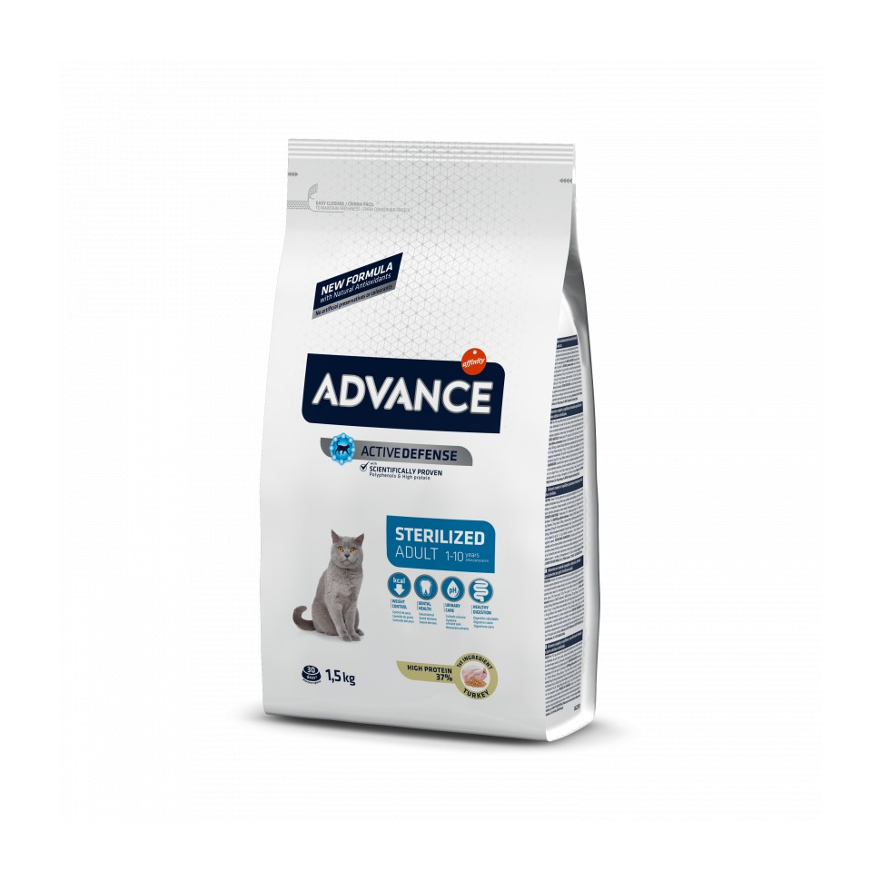 Advance Adult STERILIZED Pavo y Cebada