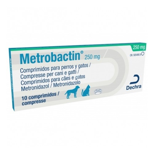 Metrobactin comprimidos