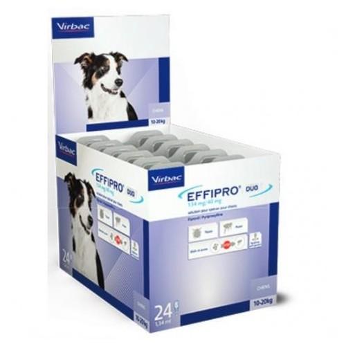 EFFIPRO 134 mg. 10-20 kg. 24 Pipetas