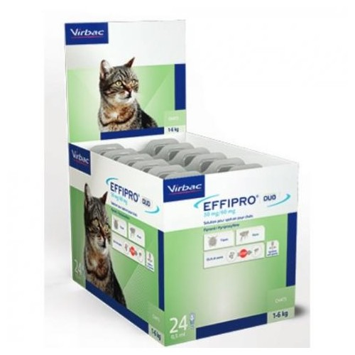 EFFIPRO 50 mg. 24 pipetas gatos