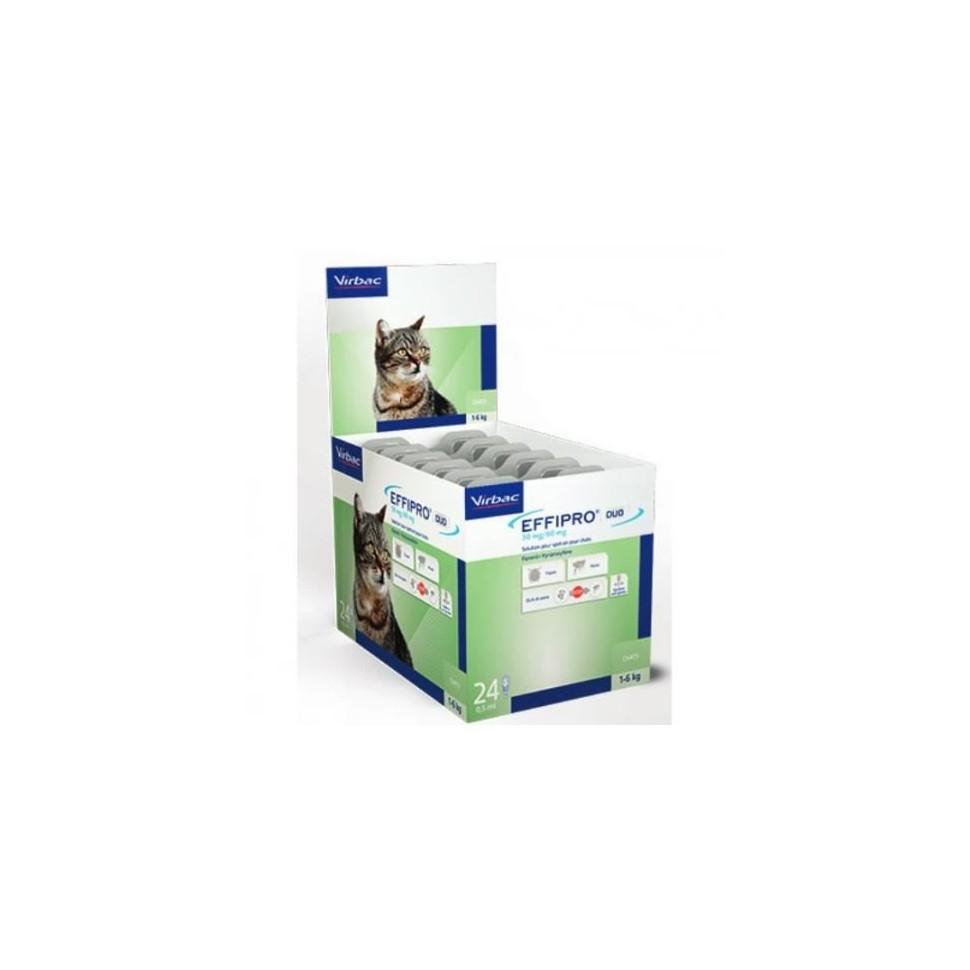 Effipro 50 mg. 60 pipetas gatos