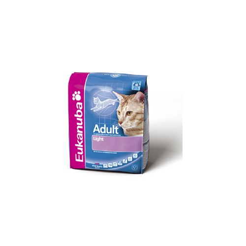 EUKANUBA ADULT LIGHT POLLO&HIGADO 7.5 KG